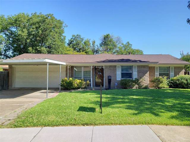 3120 Sidney Drive, Mesquite, TX 75150 (MLS #14205331) :: Kimberly Davis & Associates