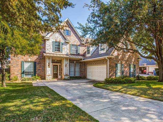 2912 Eastbourne Lane, Flower Mound, TX 75022 (MLS #14205358) :: RE/MAX Town & Country