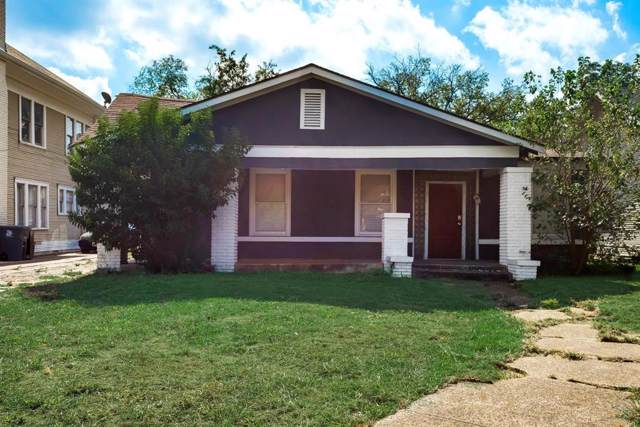 2424 Park Row Avenue, Dallas, TX 75215 (MLS #14205365) :: RE/MAX Town & Country
