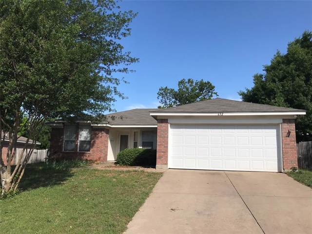 632 Cumberland Drive, Burleson, TX 76028 (MLS #14205387) :: The Rhodes Team