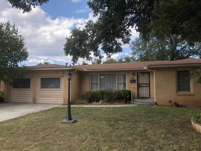610 En 22nd Street, Abilene, TX 79601 (MLS #14205456) :: Ann Carr Real Estate