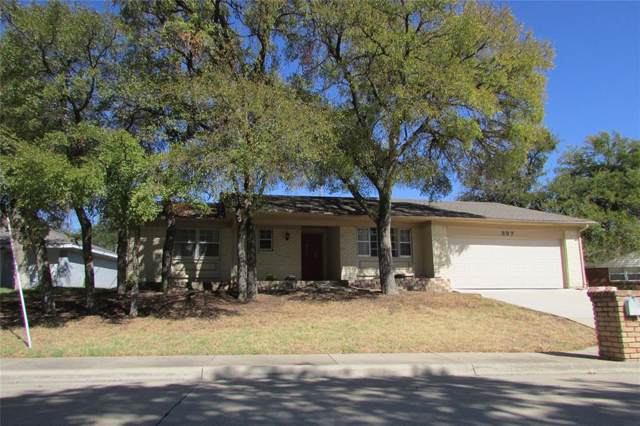 337 Somerset Circle, Bedford, TX 76022 (MLS #14205459) :: The Chad Smith Team