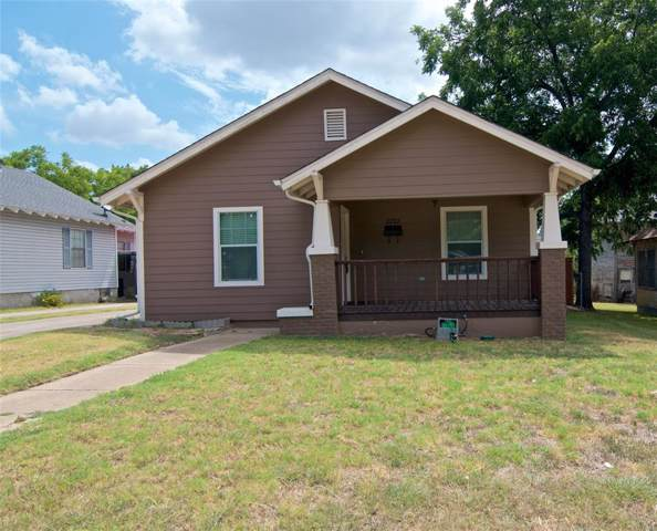 2222 Lincoln Avenue, Fort Worth, TX 76164 (MLS #14205472) :: RE/MAX Town & Country