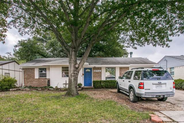 2712 Ridgeway Drive, Plano, TX 75074 (MLS #14205518) :: The Good Home Team