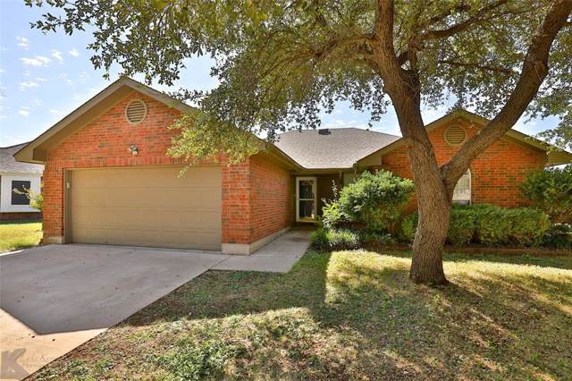 5141 Western Plains Avenue, Abilene, TX 79606 (MLS #14205582) :: The Heyl Group at Keller Williams