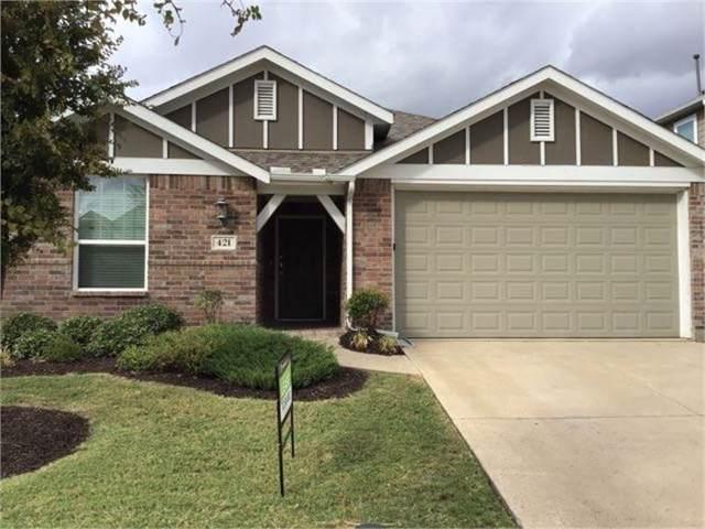 421 Barnstorm Drive, Celina, TX 75009 (MLS #14205652) :: Tenesha Lusk Realty Group