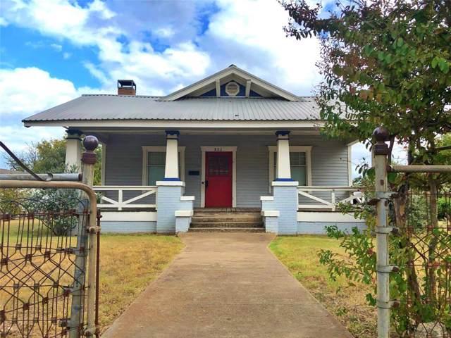 802 N Church Street, Decatur, TX 76234 (MLS #14205656) :: Ann Carr Real Estate