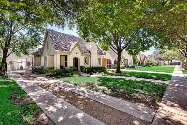 5724 Ellsworth Avenue, Dallas, TX 75206 (MLS #14205678) :: The Daniel Team
