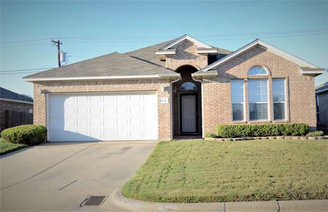 612 Caravan Drive, Fort Worth, TX 76131 (MLS #14205684) :: Kimberly Davis & Associates