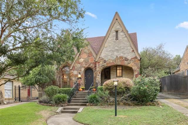 7004 Hammond Avenue, Dallas, TX 75223 (MLS #14205742) :: The Star Team | JP & Associates Realtors