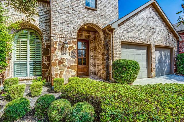 6712 Mission Ridge, Mckinney, TX 75071 (MLS #14205779) :: Robinson Clay Team