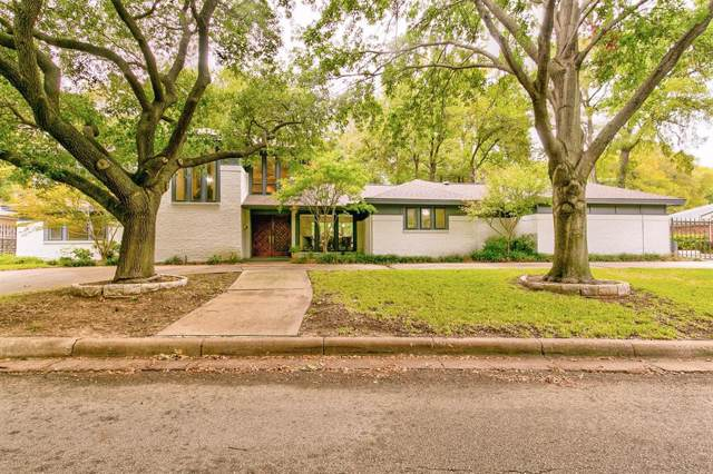 4000 Inwood Road, Fort Worth, TX 76109 (MLS #14205870) :: The Mitchell Group