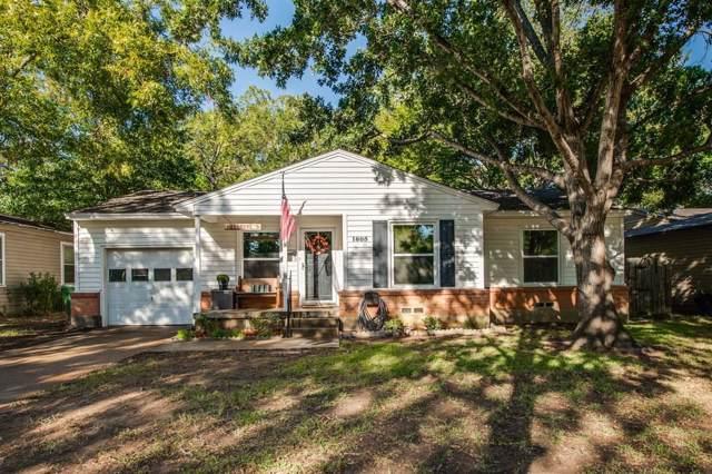 1805 Jackson Drive, Arlington, TX 76013 (MLS #14205963) :: All Cities Realty