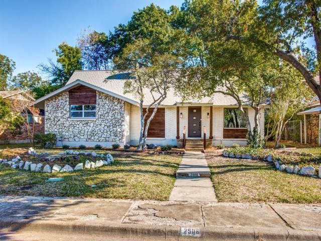 2506 Greenport Drive, Dallas, TX 75228 (MLS #14205997) :: The Kimberly Davis Group