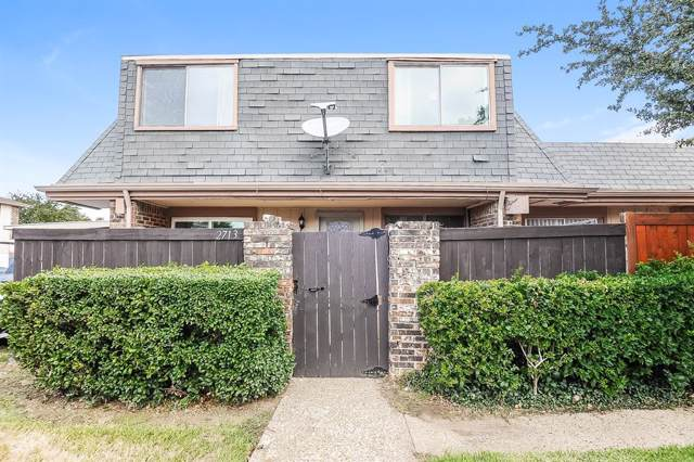 2713 Stonehaven Court, Irving, TX 75038 (MLS #14206147) :: The Heyl Group at Keller Williams