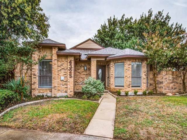 4325 Windward Circle, Dallas, TX 75287 (MLS #14206233) :: The Heyl Group at Keller Williams