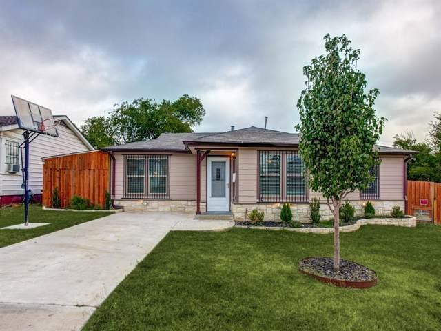 3849 Killian Street, Fort Worth, TX 76119 (MLS #14206248) :: All Cities Realty