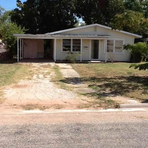 541 Cockerell, Abilene, TX 79601 (MLS #14206271) :: Team Hodnett