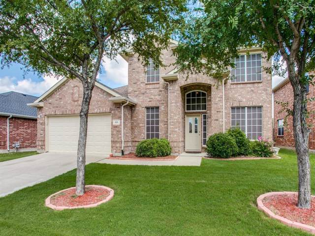 221 Northwood Drive, Little Elm, TX 75068 (MLS #14206347) :: Tenesha Lusk Realty Group
