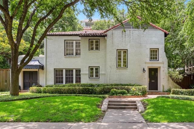 4513 Fairway Avenue, Highland Park, TX 75219 (MLS #14206354) :: Post Oak Realty