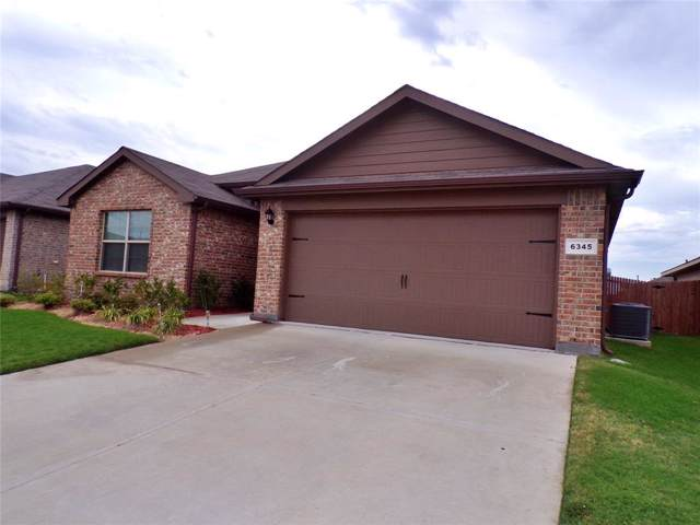 6345 Skipper Lane, Fort Worth, TX 76179 (MLS #14206464) :: RE/MAX Town & Country