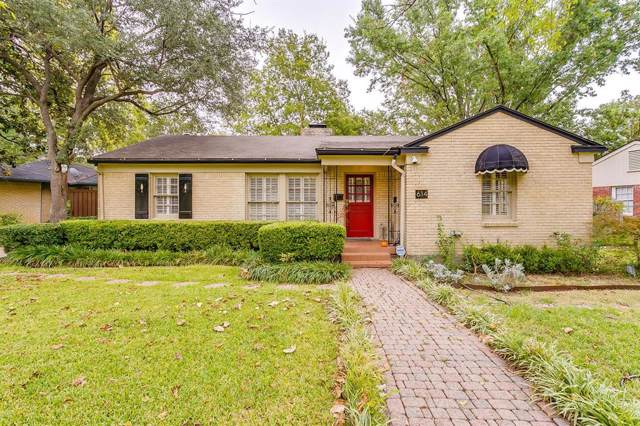 614 Harter Road, Dallas, TX 75218 (MLS #14206510) :: The Real Estate Station