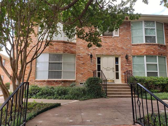 3023 Mahanna Springs Drive 3023A, Dallas, TX 75235 (MLS #14206539) :: Lynn Wilson with Keller Williams DFW/Southlake