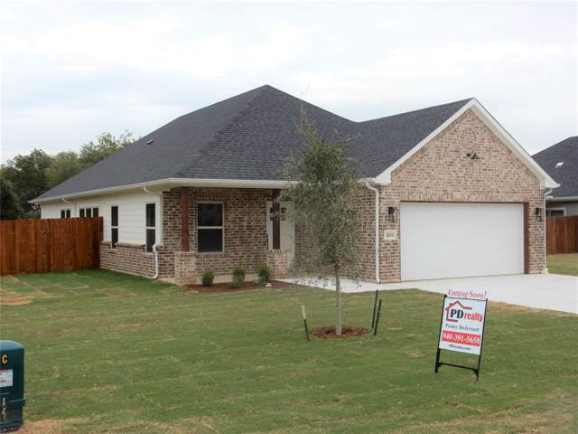 203 Fitzgerald Court, Tioga, TX 76271 (MLS #14206587) :: Dwell Residential Realty