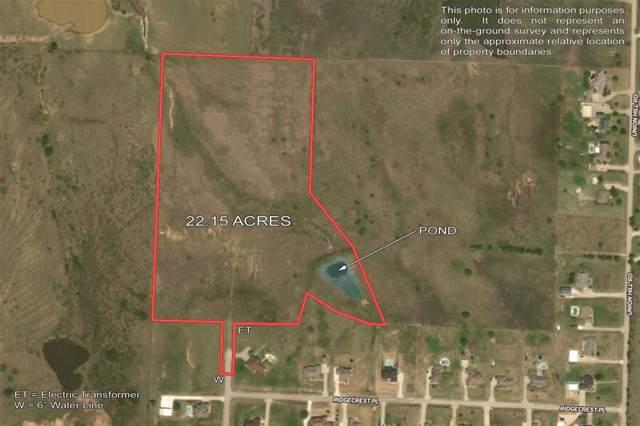 22 AC Ridgecrest Place, Sanger, TX 76266 (MLS #14206638) :: The Tierny Jordan Network