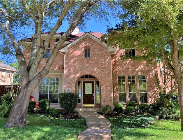 411 Suncreek Drive, Allen, TX 75013 (MLS #14207671) :: Tenesha Lusk Realty Group