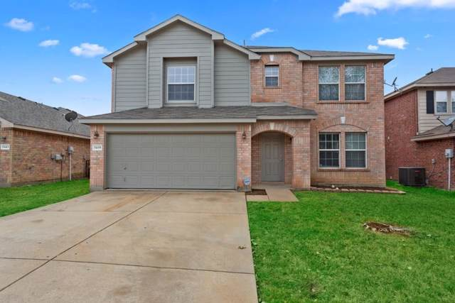 5439 Sabine Lane, Grand Prairie, TX 75052 (MLS #14207683) :: The Tierny Jordan Network