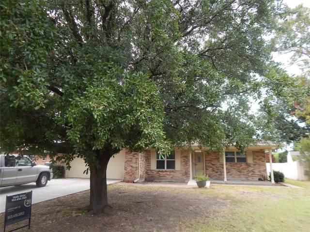 2502 Burnett Drive, Greenville, TX 75402 (MLS #14207685) :: All Cities Realty