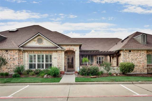 3075 Willow Grove Boulevard #2402, Mckinney, TX 75070 (MLS #14207723) :: The Rhodes Team