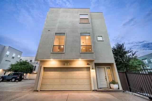 2100 N Fitzhugh Avenue I, Dallas, TX 75204 (MLS #14207739) :: Baldree Home Team
