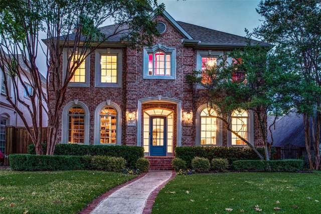 3940 Purdue Avenue, University Park, TX 75225 (MLS #14207828) :: RE/MAX Town & Country