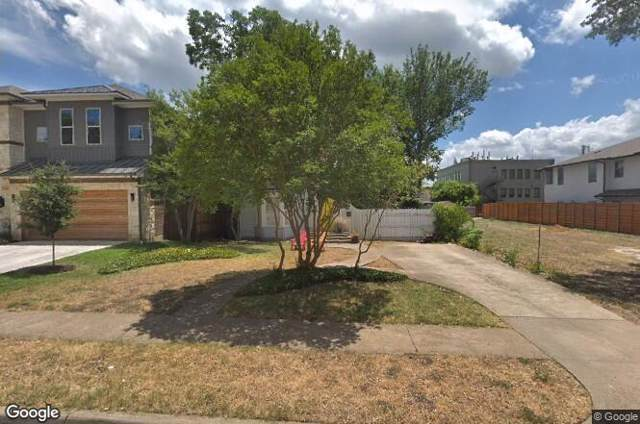 4822 W Amherst Avenue, Dallas, TX 75209 (MLS #14207992) :: All Cities Realty