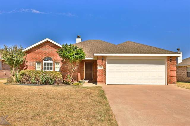 274 Sugarberry Avenue, Abilene, TX 79602 (MLS #14208034) :: The Tierny Jordan Network