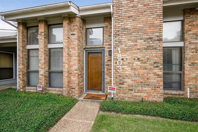 17490 Meandering Way #1803, Dallas, TX 75252 (MLS #14208101) :: Hargrove Realty Group