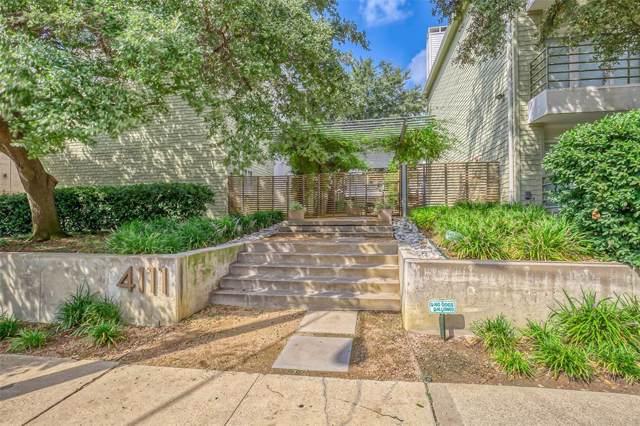 4111 Cole Avenue #30, Dallas, TX 75204 (MLS #14208234) :: Baldree Home Team