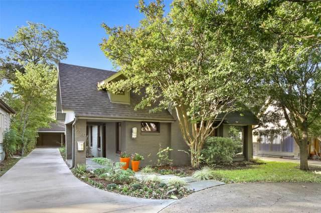 5550 Monticello Avenue, Dallas, TX 75206 (MLS #14208236) :: Baldree Home Team