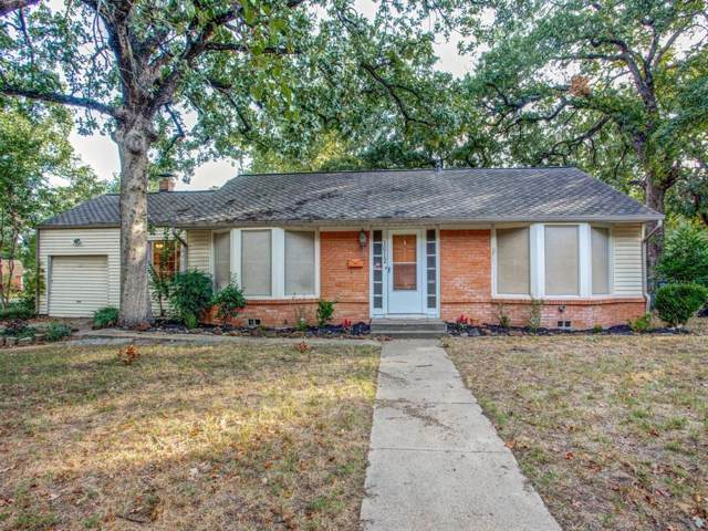 1612 Robinwood Drive, Fort Worth, TX 76111 (MLS #14208317) :: RE/MAX Town & Country