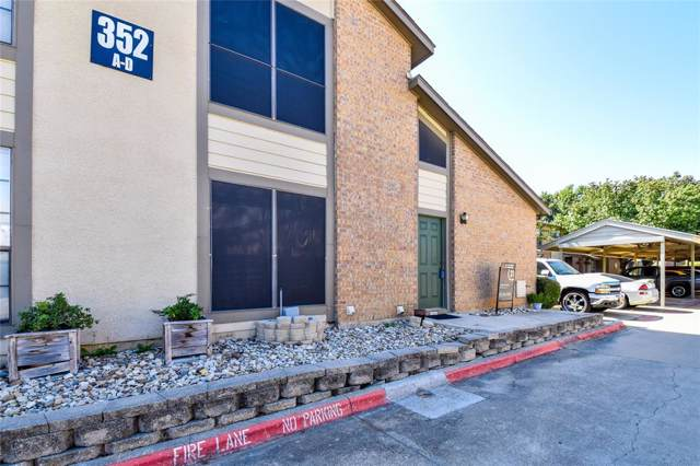 352 W Harwood Road D, Hurst, TX 76054 (MLS #14208407) :: Robinson Clay Team