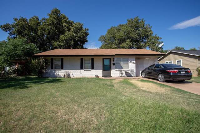 2026 Yorktown Drive, Abilene, TX 79603 (MLS #14208437) :: Lynn Wilson with Keller Williams DFW/Southlake