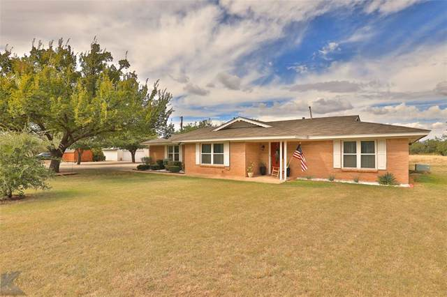 150 Weatherman Lane, Abilene, TX 79602 (MLS #14208444) :: The Tierny Jordan Network