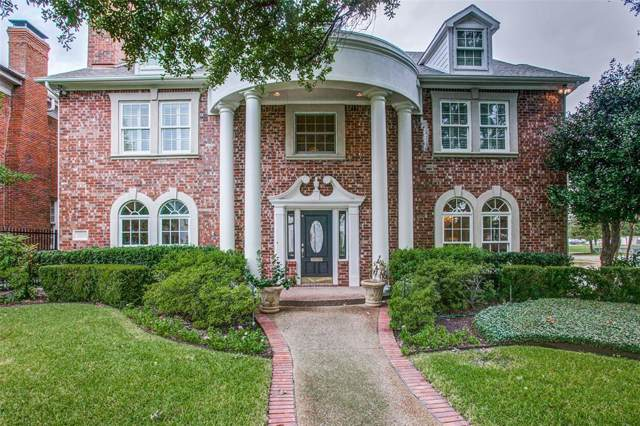 3100 Drexel, Highland Park, TX 75205 (MLS #14208579) :: All Cities Realty