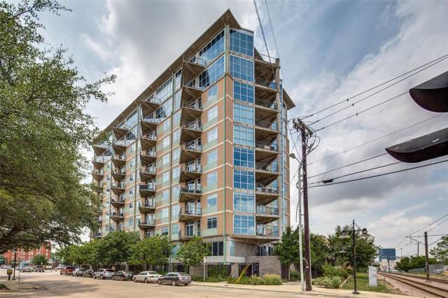 1001 Belleview Street #207, Dallas, TX 75215 (MLS #14208647) :: Lynn Wilson with Keller Williams DFW/Southlake