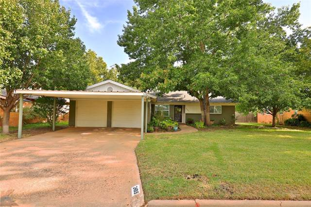 2489 Campus Court, Abilene, TX 79601 (MLS #14208650) :: Century 21 Judge Fite Company