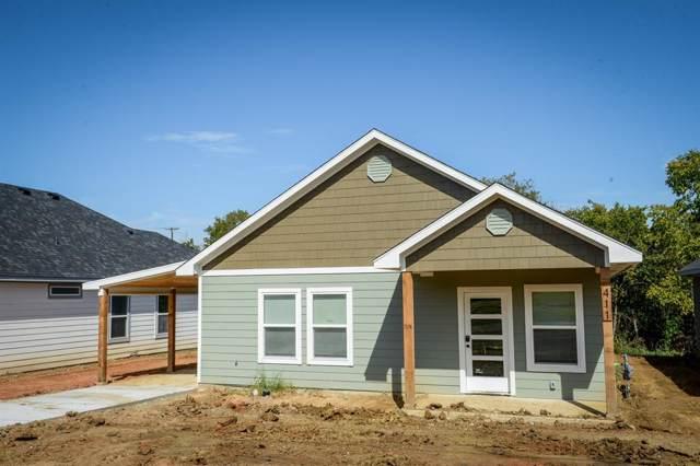 411 E Nelson Street, Denison, TX 75021 (MLS #14208798) :: All Cities Realty
