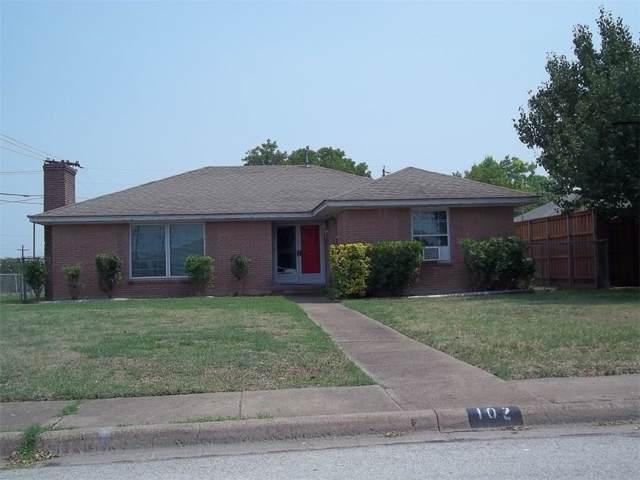 102 Blue Sky Drive, Desoto, TX 75115 (MLS #14208818) :: Tenesha Lusk Realty Group