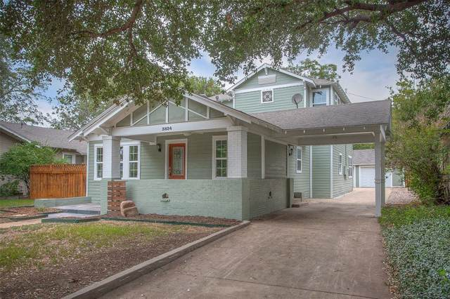 3824 Clarke Avenue, Fort Worth, TX 76107 (MLS #14208832) :: Team Tiller